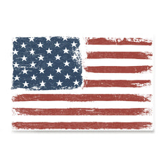 Ezposterprints - Faded USA Flag Poster