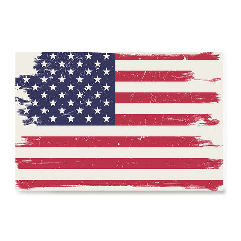 Ezposterprints - Grunge Worn Out USA Flag Poster