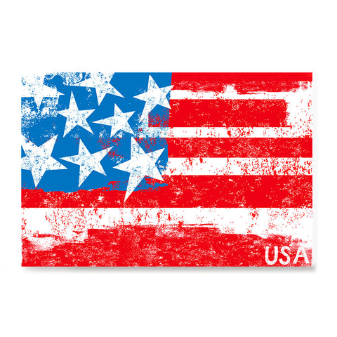 Ezposterprints - Retro USA Flag Poster