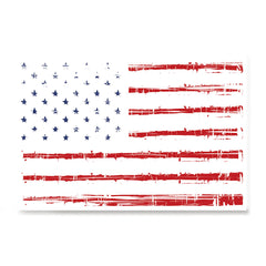 Ezposterprints - Textured Worn Out USA Flag Poster