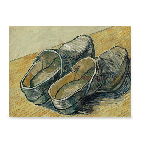 Ezposterprints - A Pair Of Leather Clogs | Van Gogh Art Reproduction