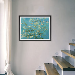 Ezposterprints - Almond Blossom | Van Gogh Art Reproduction - 24x18 ambiance display photo sample