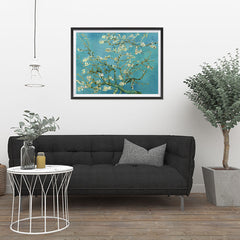 Ezposterprints - Almond Blossom | Van Gogh Art Reproduction - 32x24 ambiance display photo sample