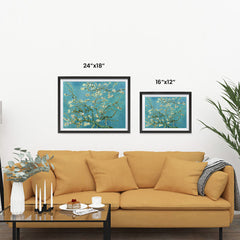 Ezposterprints - Almond Blossom | Van Gogh Art Reproduction ambiance display photo sample