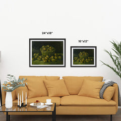 Ezposterprints - Basket Of Potatoes | Van Gogh Art Reproduction ambiance display photo sample
