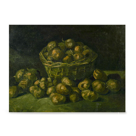 Ezposterprints - Basket Of Potatoes | Van Gogh Art Reproduction
