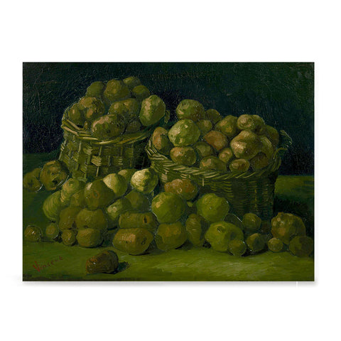 Ezposterprints - Baskets Of Potatoes | Van Gogh Art Reproduction