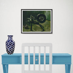 Ezposterprints - Bobbin Winder | Van Gogh Art Reproduction - 16x12 ambiance display photo sample