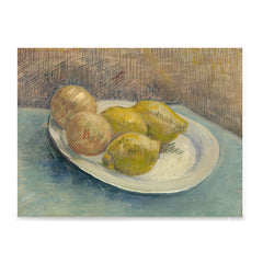 Ezposterprints - Dish With Citrus Fruit | Van Gogh Art Reproduction