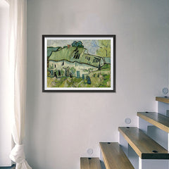 Ezposterprints - Farmhouse | Van Gogh Art Reproduction - 24x18 ambiance display photo sample