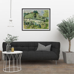 Ezposterprints - Farmhouse | Van Gogh Art Reproduction - 32x24 ambiance display photo sample