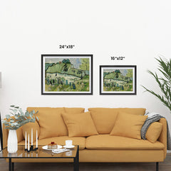 Ezposterprints - Farmhouse | Van Gogh Art Reproduction ambiance display photo sample
