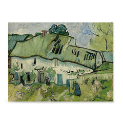 Ezposterprints - Farmhouse | Van Gogh Art Reproduction