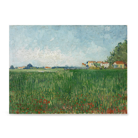 Ezposterprints - Field With Poppies | Van Gogh Art Reproduction