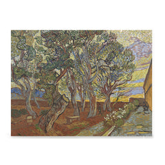 Ezposterprints - Garden Of The Asylum | Van Gogh Art Reproduction