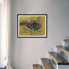Ezposterprints - Grapes | Van Gogh Art Reproduction - 24x18 ambiance display photo sample