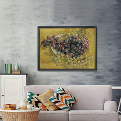 Ezposterprints - Grapes | Van Gogh Art Reproduction - 48x36 ambiance display photo sample