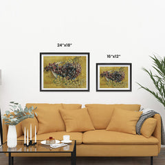 Ezposterprints - Grapes | Van Gogh Art Reproduction ambiance display photo sample