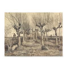 Ezposterprints - Pollard Birches | Van Gogh Art Reproduction