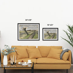 Ezposterprints - Pollard Willow | Van Gogh Art Reproduction ambiance display photo sample