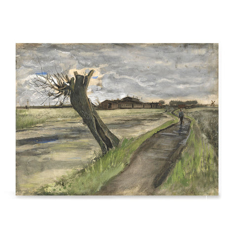 Ezposterprints - Pollard Willow | Van Gogh Art Reproduction