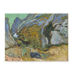 Ezposterprints - Ravine With A Small Stream | Van Gogh Art Reproduction