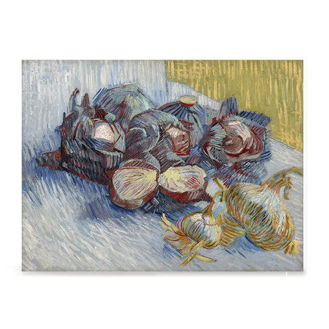 Ezposterprints - Red Cabbages And Onions | Van Gogh Art Reproduction