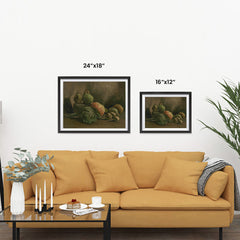 Ezposterprints - Still Life With Vegetables And Fruit | Van Gogh Art Reproduction ambiance display photo sample