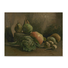 Ezposterprints - Still Life With Vegetables And Fruit | Van Gogh Art Reproduction