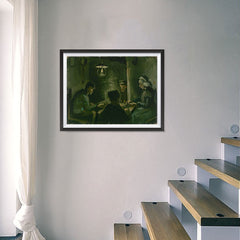 Ezposterprints - Study For The Potato Eaters | Van Gogh Art Reproduction - 24x18 ambiance display photo sample