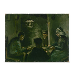 Ezposterprints - Study For The Potato Eaters | Van Gogh Art Reproduction