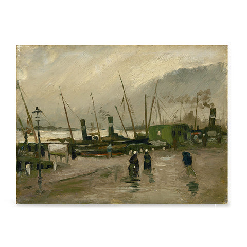 Ezposterprints - The De Ruijterkade In Amsterdam | Van Gogh Art Reproduction