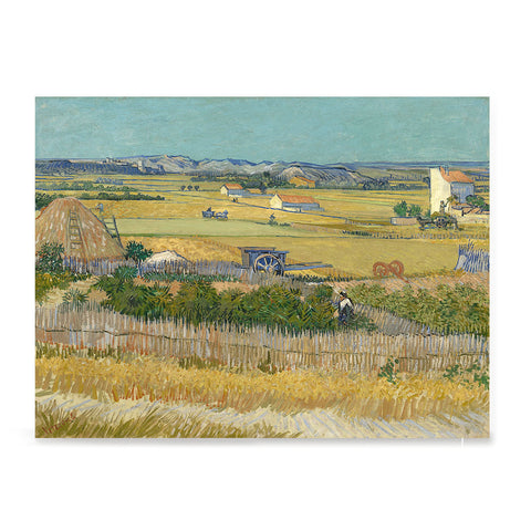Ezposterprints - The Harvest | Van Gogh Art Reproduction
