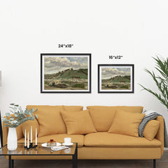 Ezposterprints - The Hill Of Montmartre With Stone Quarry | Van Gogh Art Reproduction ambiance display photo sample