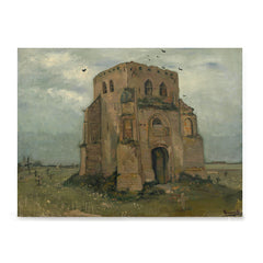 Ezposterprints - The Old Church Tower At Nuenen | Van Gogh Art Reproduction