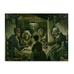 Ezposterprints - The Potato Eaters | Van Gogh Art Reproduction