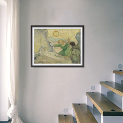 Ezposterprints - The Raising Of Lazarus | Van Gogh Art Reproduction - 24x18 ambiance display photo sample