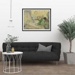 Ezposterprints - The Raising Of Lazarus | Van Gogh Art Reproduction - 32x24 ambiance display photo sample