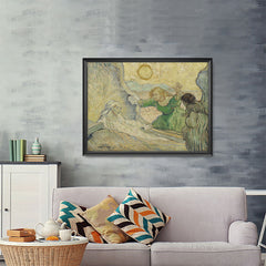Ezposterprints - The Raising Of Lazarus | Van Gogh Art Reproduction - 48x36 ambiance display photo sample