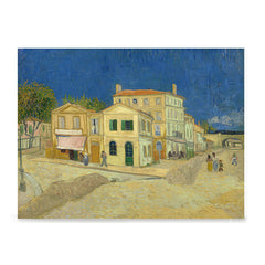 Ezposterprints - The Yellow House | Van Gogh Art Reproduction