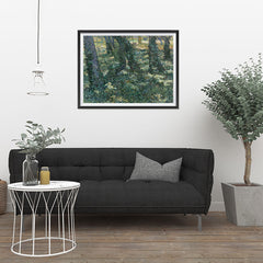 Ezposterprints - Undergrowth | Van Gogh Art Reproduction - 32x24 ambiance display photo sample