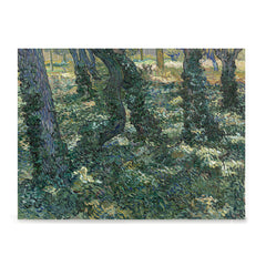 Ezposterprints - Undergrowth | Van Gogh Art Reproduction