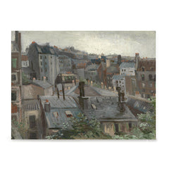 Ezposterprints - View From Vincents Studio | Van Gogh Art Reproduction
