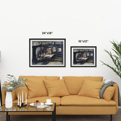 Ezposterprints - Weaver | Van Gogh Art Reproduction ambiance display photo sample