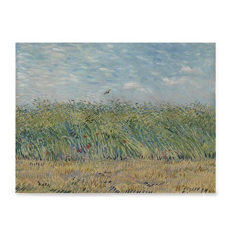 Ezposterprints - Wheatfield With Partridge | Van Gogh Art Reproduction