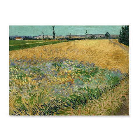 Ezposterprints - Wheatfield | Van Gogh Art Reproduction