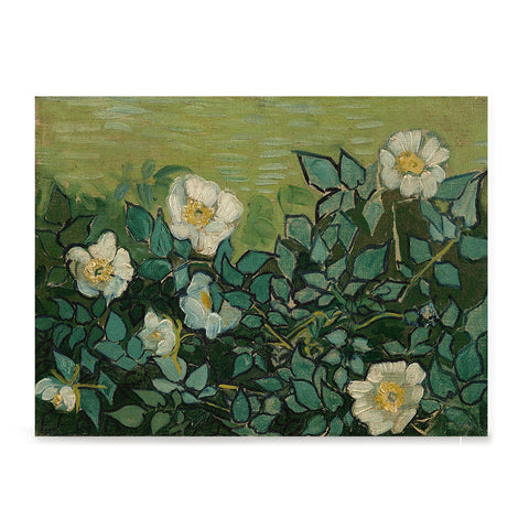 Ezposterprints - Wild Roses | Van Gogh Art Reproduction