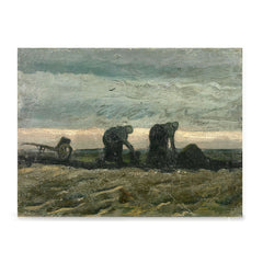 Ezposterprints - Women On The Peat Moor | Van Gogh Art Reproduction