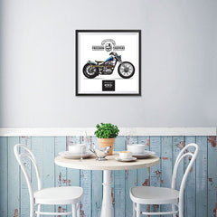 Ezposterprints - Built For Speed Vintage Chopper - 16x16 ambiance display photo sample