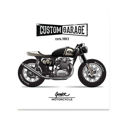 Ezposterprints - Custom Garage Vintage Chopper